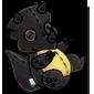Black Trido Plushie