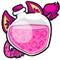 Pink Ridix Morphing Potion