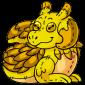 Yellow Lugra Plushie