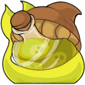 Yellow Sharshel Morphing Potion