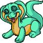 Turquoise Cobron Plushie