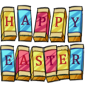 Happy Easter Chocolate Bars