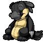 Black Traptur Plushie