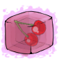 Cherry Ice Cube