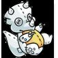 White Trido Plushie