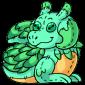 Turquoise Lugra Plushie