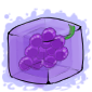 Grape Ice Cube