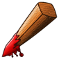 Bloody Wooden Stake