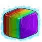 Rainbow Ice Cube