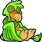 Green Dovu Plushie