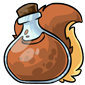 Brown Wulfer Morphing Potion