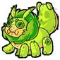 Green Krittle Plushie