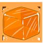 Orange Ice Cube