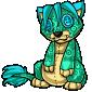 Turquoise Ridix Plushie
