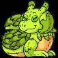 Green Lugra Plushie