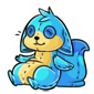 Blue Dabu Plushie