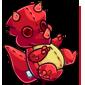 Red Trido Plushie