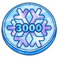 3000 IceCash Coin