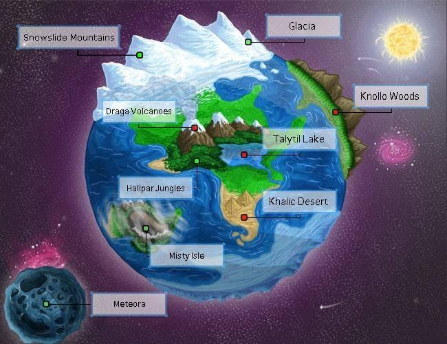 Terrafrost World Map