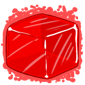 Red Ice Cube