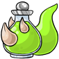 Green Trido Morphing Potion