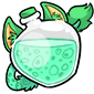 Turquoise Ridix Morphing Potion