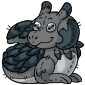 Grey Lugra Plushie