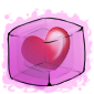 Heart Ice Cube