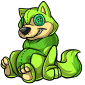 Green Wulfer Plushie
