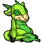 Green Makoat Plushie