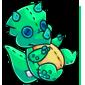 Turquoise Trido Plushie