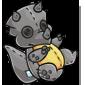 Grey Trido Plushie
