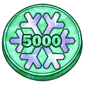 5000 IceCash Coin