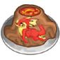 Hodra Volcano Cake